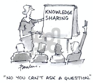 Cartoon: Knowledge (large) by Paulus tagged lecture,knowledge,seminar